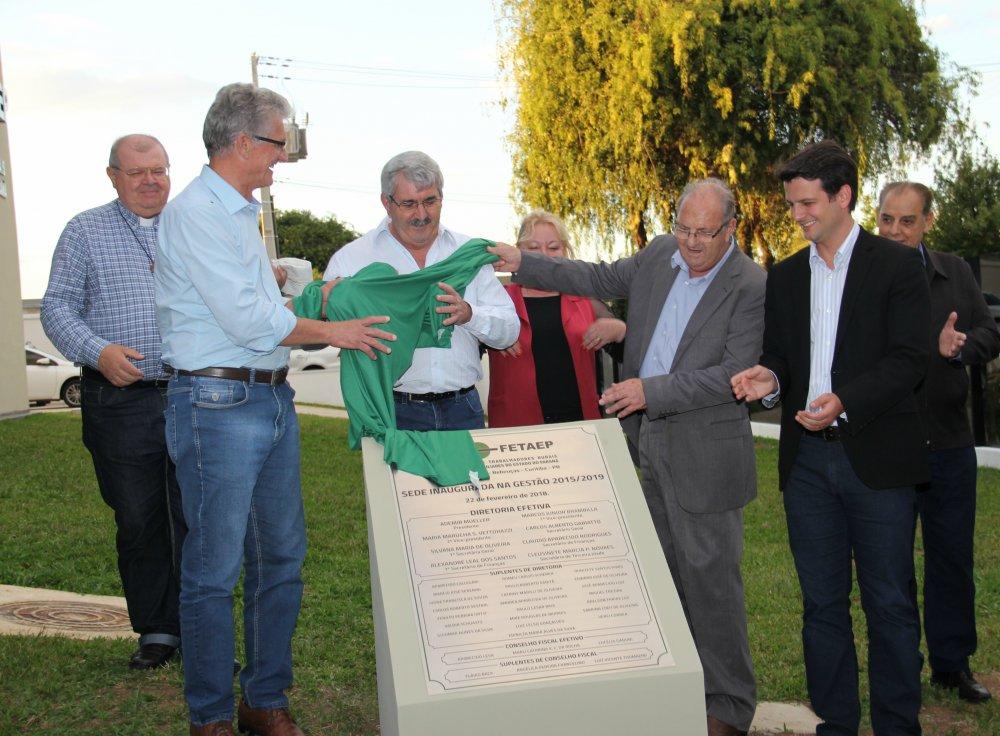 Capa foto Inauguração da nova sede e 55 anos da FETAEP