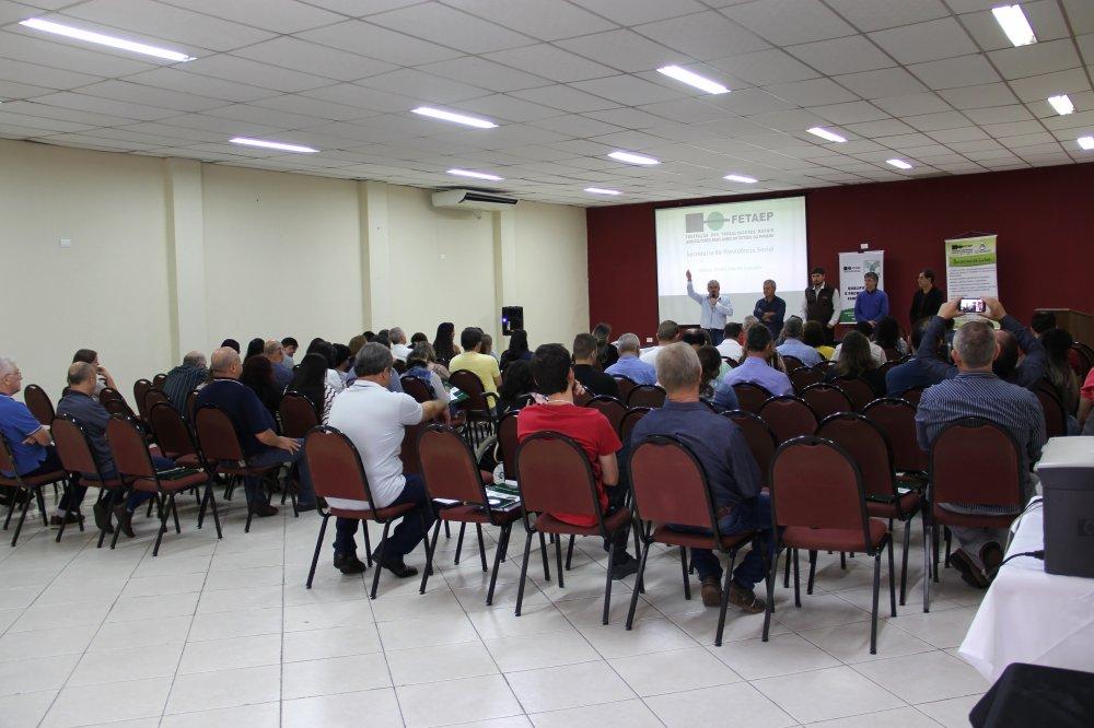 Capa foto Seminário Estadual de Previdência Social Rural