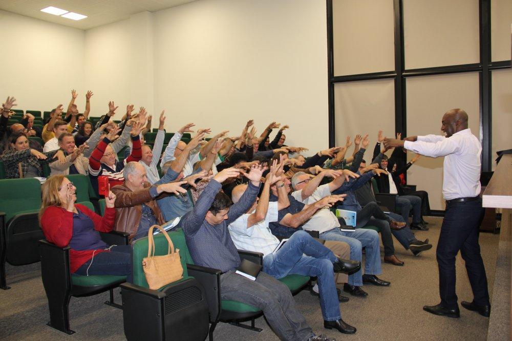Capa foto seminário palestra motivacional